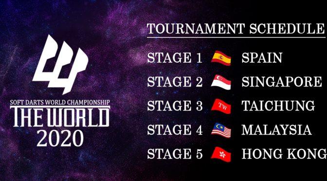 【戰報】The World延遲開鑼 馬來西亞站賽事延至10月舉行